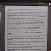 Les Echos, un periódico sobre tinta electrónica