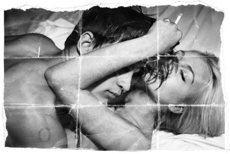 Lindsay Lohan juega a ser Kate Moss en Muse: desnudos y drogas II