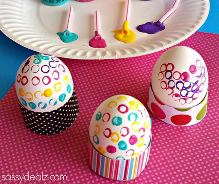 Manualidades Ninos Decorar Huevos Pascua 05