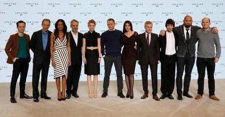 El reparto de Spectre (Bond 24)
