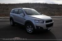 Chevrolet Captiva 2.2 VCDi FWD, prueba (conducción y dinámica)