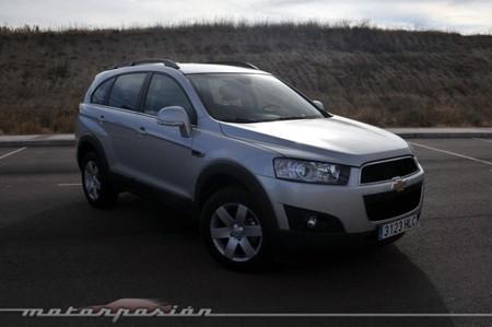 Chevrolet Captiva 22 Vcdi Fwd Prueba Conduccin Y Dinmica
