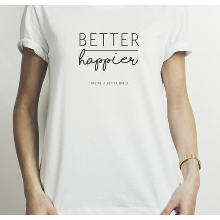 Camiseta Better Happier 1