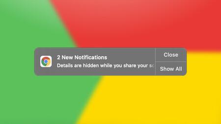 Google Chrome silenciará las notificaciones cuando compartas pantalla en una video llamada para proteger datos sensibles