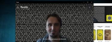 Cómo cambiar el fondo en Skype para ocultar lo que hay detrás de ti