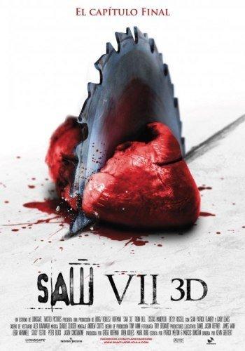 'Saw VII 3D', cartel español