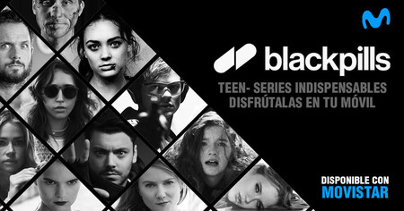 Movistar lanza blackpills: un Netflix para móviles con series exclusivas para el público adolescente