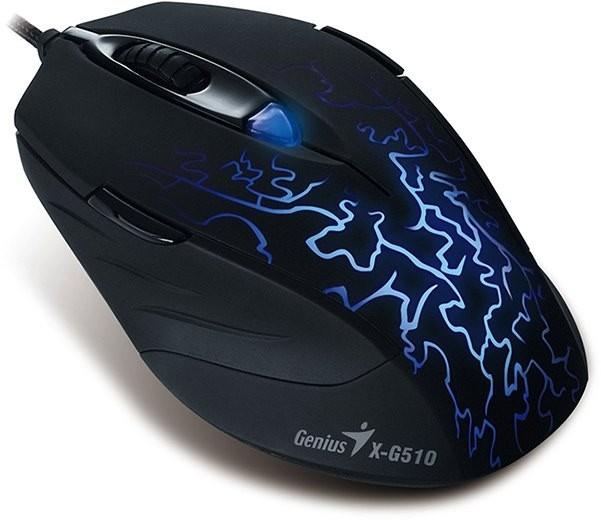 Genius X-G510 es otro ratón 'barato' pensado para los juegos
