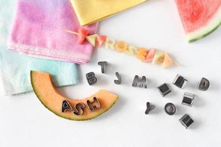 Fruta letras