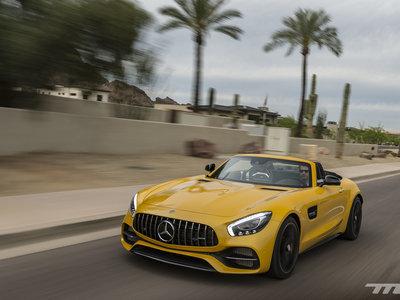Al volante del Mercedes-AMG GT C Roadster: más que un simple descapotable de 557 CV es todo un GT R con capota de lona