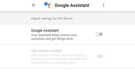 Cómo desactivar el Asistente de Google y volver a Now on Tap