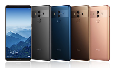 La cámara del Mate 10 Pro supera a las del iPhone 8 Plus y el Note 8 en DxOMark
