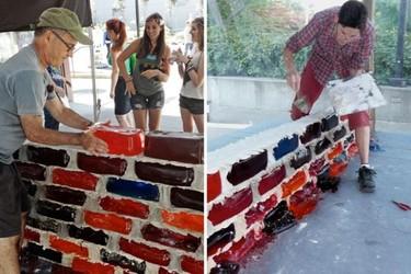 El original e inestable muro de gelatina de Hein y Seng