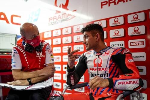 """""""Puedo hacer un podio, es más importante luchar por eso que ser rookie del año"""". Hablamos con Jorge Martín durante los test de MotoGP"""