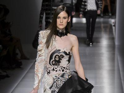 Balmain conquista con una colección ideal para lucir como una Kardashian