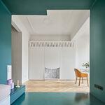 Nuevas formas de circular y de vivir un piso antiguo de 60 m2 en Barcelona