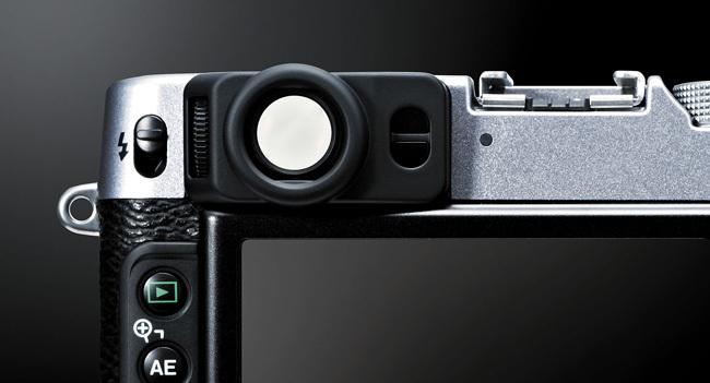 Fujifilm X20 detalle visor