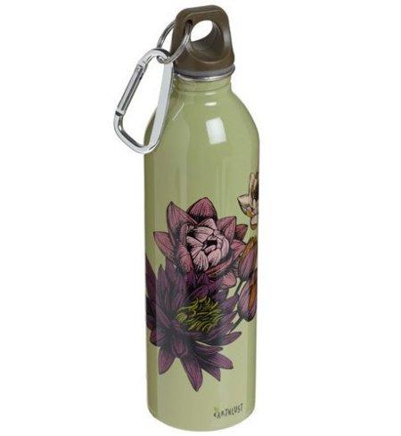 Botella de agua vintage y ecológica, hidrátate con elegancia