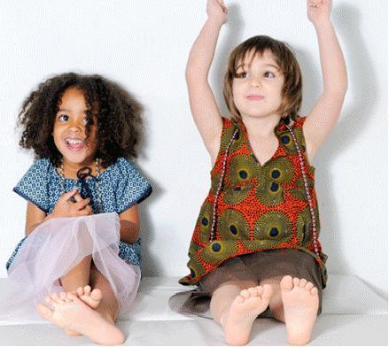 Kambakids, niños con estilo africano