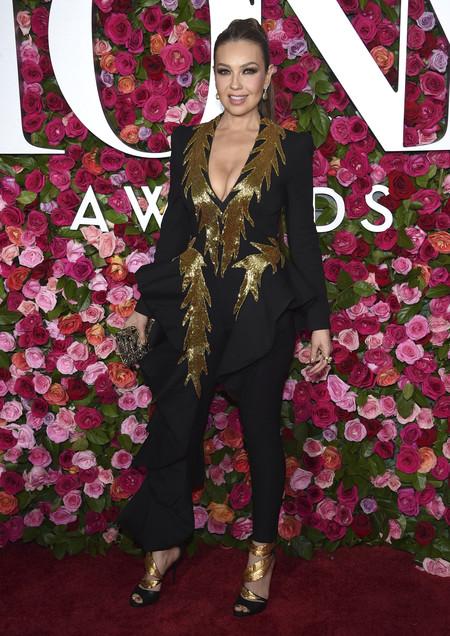alfombra roja tony awards Thalia