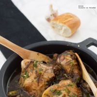 Receta de pollo balsámico en diez minutos