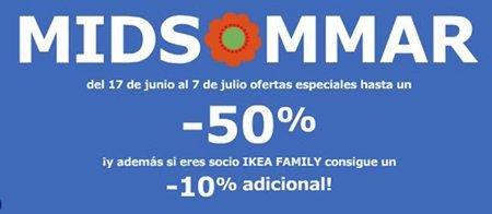 Celebra Midsommar con 50% de descuento en Ikea