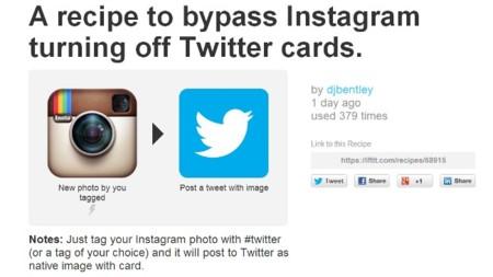 Cómo seguir mostrando en Twitter tus fotos de Instagram al igual que antes de la restricción