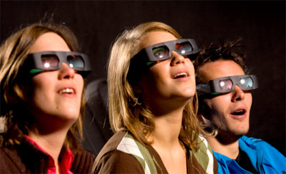 Cine 3D en casa, próxima parada
