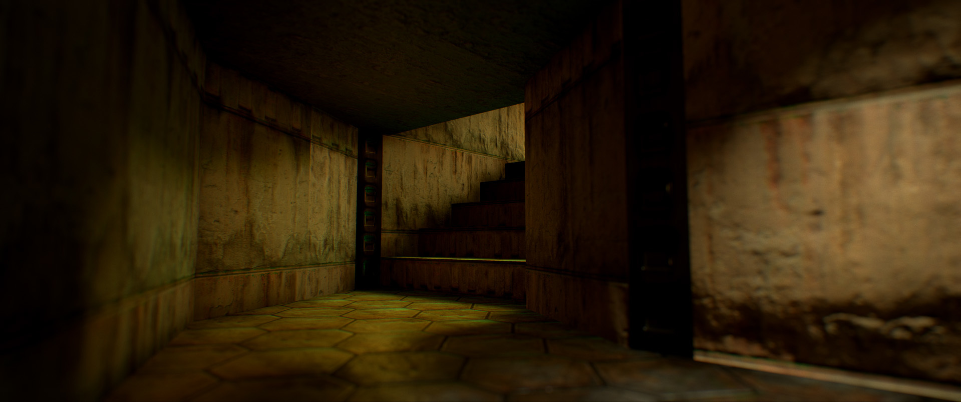 Foto de Nivel E1M1 de Doom en Unreal Engine (7/13)