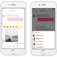 Facebook Messenger se renueva: las reacciones y menciones ya están aquí