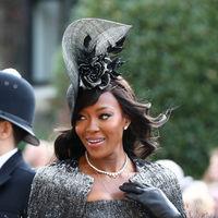 Boda de la princesa Eugenia de York y Jack Brooksbank: la elegancia de Naomi Campbell se impone en la boda real