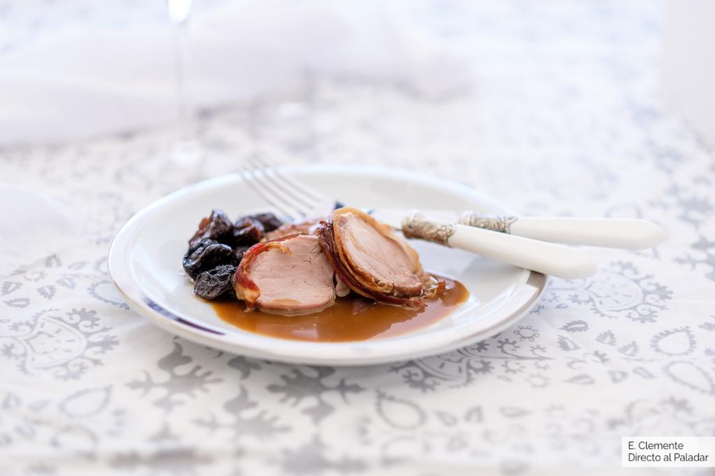 Solomillo de cerdo al horno con salsa de vermut: receta para despedir el año como se merece