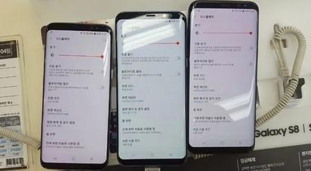 """Las pantallas """"rojas"""" del Galaxy S8 no son un defecto y se arreglan fácilmente, según Samsung"""