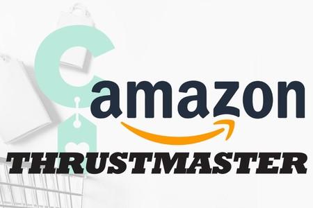 Ahorro para jugones: ofertas en periféricos gaming Thrustmaster en Amazon
