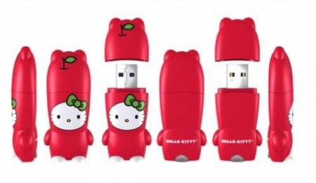 Nuevas memorias USB Mimobot de Hello Kitty