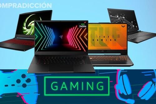 Ofertas gaming en Amazon: 17 portátiles de ASUS, HP, MSI y Razer a los mejores precios
