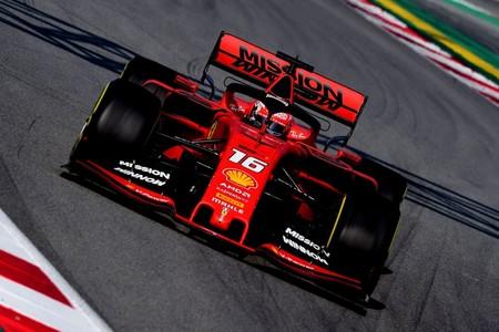 Leclerc Pretemporada Ferrari