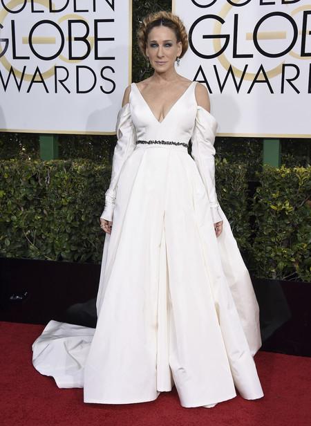 Globos de Oro 2017: Sarah Jessica Parker y su trenza corona