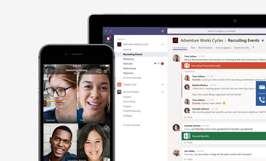 Microsoft actualiza Teams para iOS: más pericia entre las apps destinadas a mejorar los flujos de trabajo