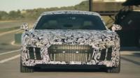 Una vuelta al circuito de Ascari en el nuevo Audi R8 aún camuflajeado