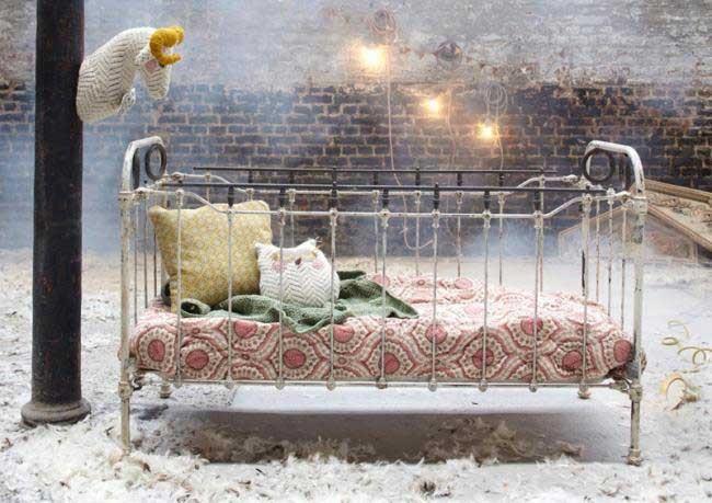 Tendencias para decorar un dormitorio infantil o de beb for Muebles gitanos