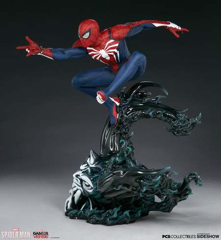 Spider Man Advanced Suit