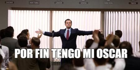 Leonardo Dicaprio Memes Oscars 2016 Bdc Wall Street Imagen