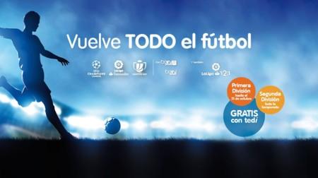 telecable ya tiene precio para el fútbol: 14,90 euros al mes por Primera y Segunda división