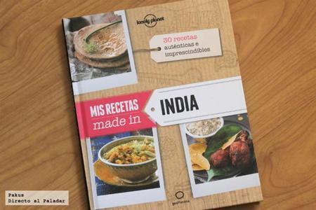 Mis recetas made in India. Libro de cocina
