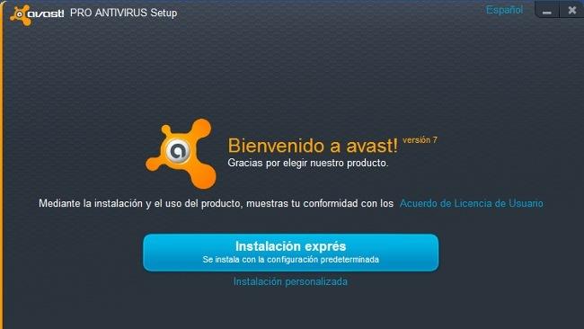 Instalador Avast 7