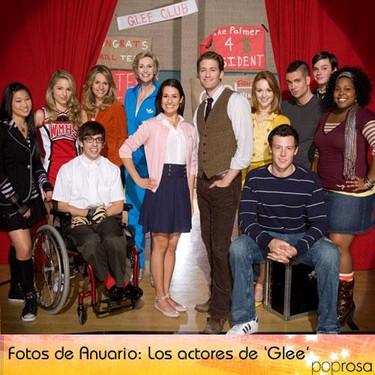 Los actores de 'Glee' en el instituto: Fotos de anuario