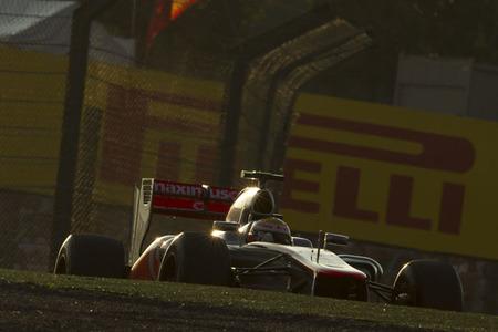 Lewis Hamilton tuvo problemas con las suspensión en el Gran Premio de Japón