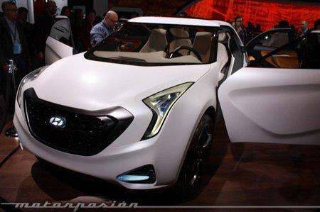 Hyundai CURB en el Salón de Detroit, en la senda del Nissan Juke