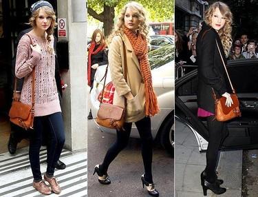 El estilo de Taylor Swift, de día y de noche